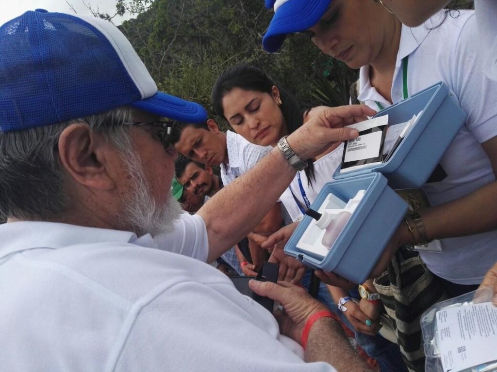 Equipo Esant visitó planta de tratamiento de agua potable de San Andrés durante la Expediciòn Santander